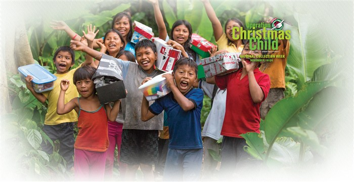 We Support Operation Chirstmas Child